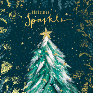 Christmas Sparkle Tree Card