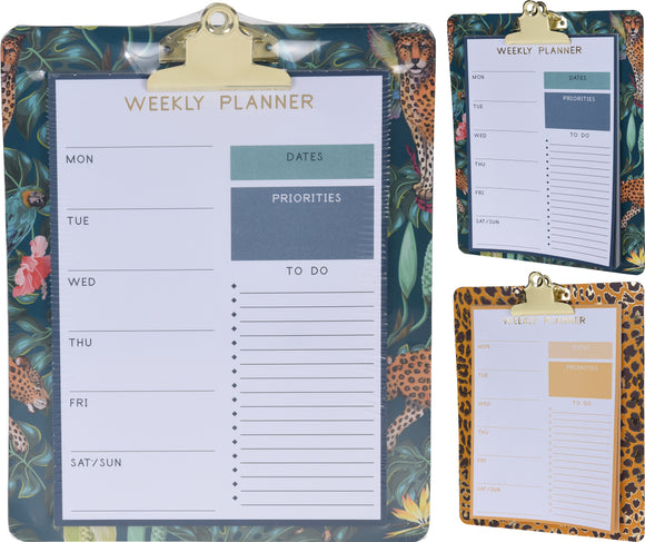 Leopard Print Jungle Planner