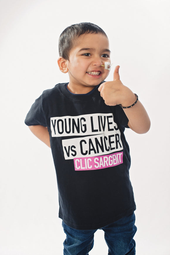 Young Lives Vs Cancer - Short Sleeve Children's T-Shirt