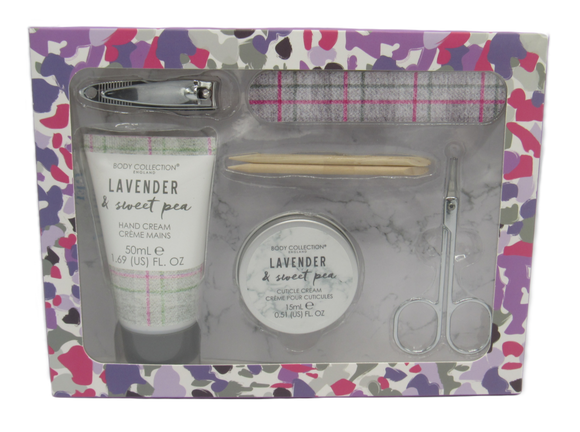 Lavender & Sweet Pea Manicure Gift Set