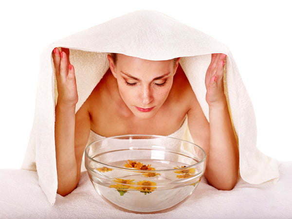 Cleaning and Steaming Your Skin at Home