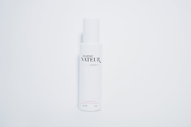 Agent Nateur h o l i (water) pearl and rose hyaluronic toner