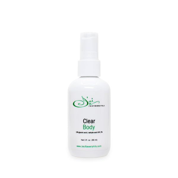 Clear Body Spray