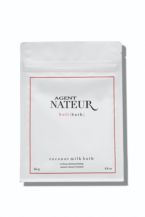 Agent Nateur h o l i (bath) soothing hydrating calming coconut milk bath