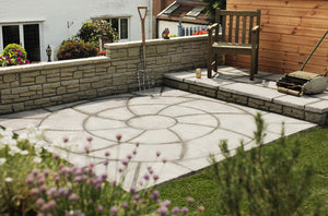 Bowland Stone Catherine Wheel Patio Pack