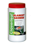Cloverleaf Blanket Answer - blanketweed treatment