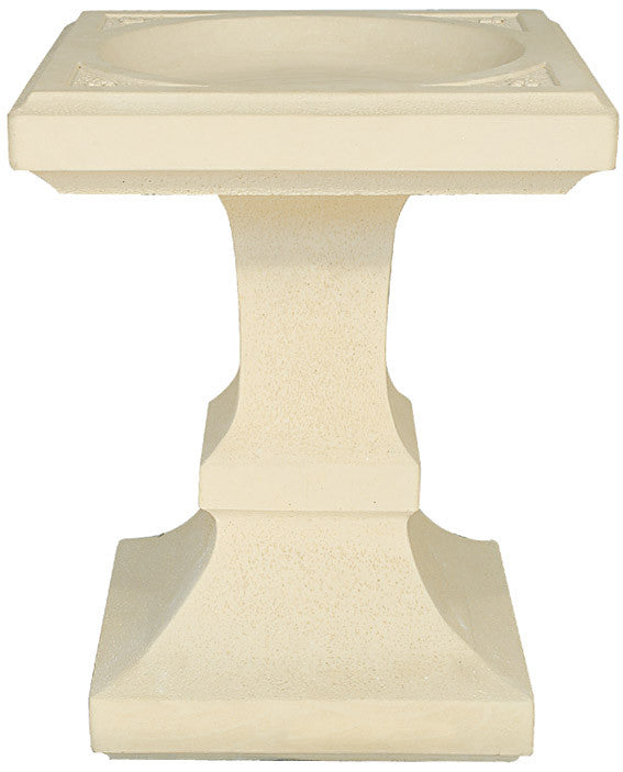 Willowstone Small Square Bird Bath
