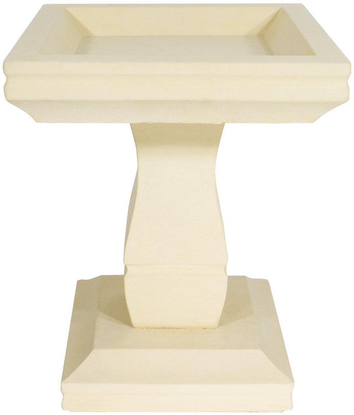 Willowstone Art Deco Bird Bath