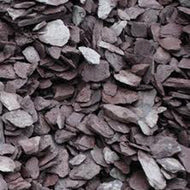 Plum/Green Slate 40mm chippings