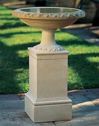 Regency Bird Bath & Pedestal