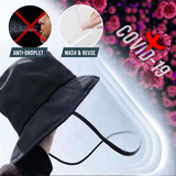 Anti-Virus Face Shield Hat