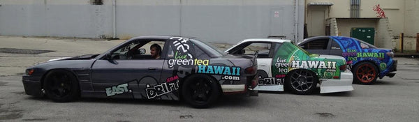 LGTH Drift Team - Live Green Tea Hawaii Racing