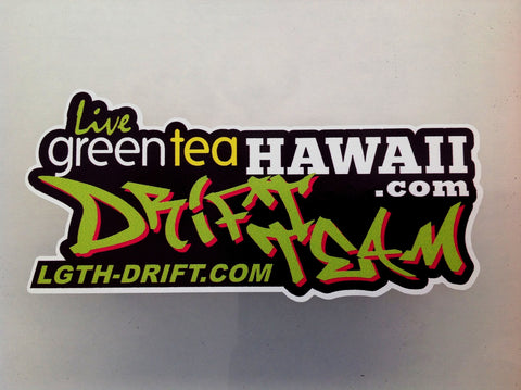 LGTH Drift Team - Tagger Style Decal (Small)