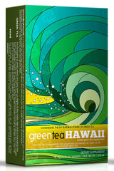 Green Tea Hawaii - 1 Box, 12 Packets