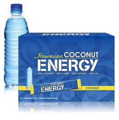 Hawaiian Coconut ENERGY - 1 Box, 60 Packets