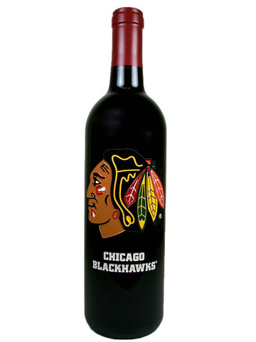 NHL® Chicago Blackhawks® Original Six Etched Bottle