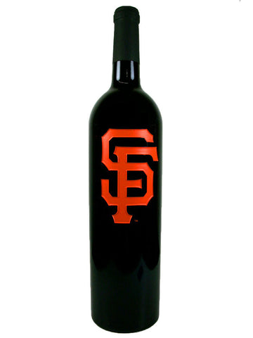 SF Giants™ Etched Red Wine