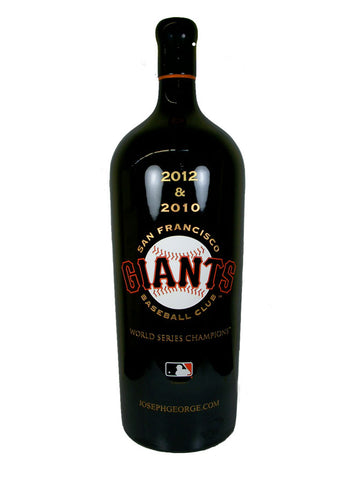MLB San Francisco Giants 12 Liter Etched Bottle (Empty)