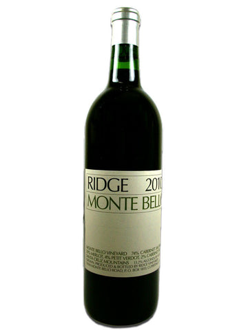 Ridge Monte Bello 2010 Proprietary Blend