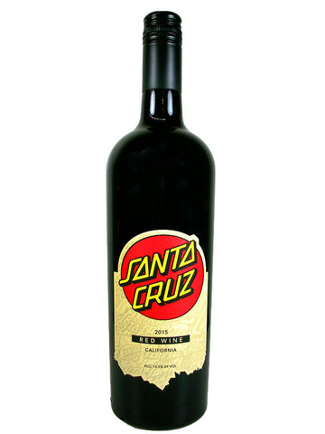 Santa Cruz Red Wine-Paper Label
