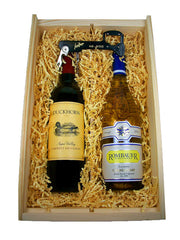 Two Bottle Surprise Holiday Gift Box