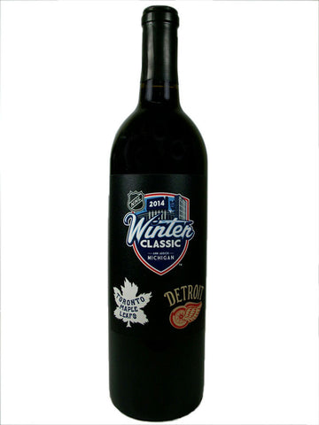 "NHL® WINTER CLASSIC™ 2014 ""PAPER LABEL"" RED WINE (MICHIGAN)"