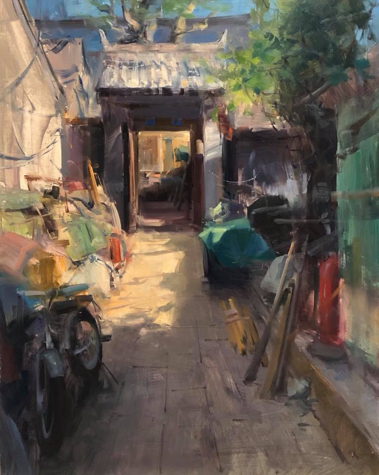 Bryan Mark Taylor Online Landscape and Cityscape Painting Course.