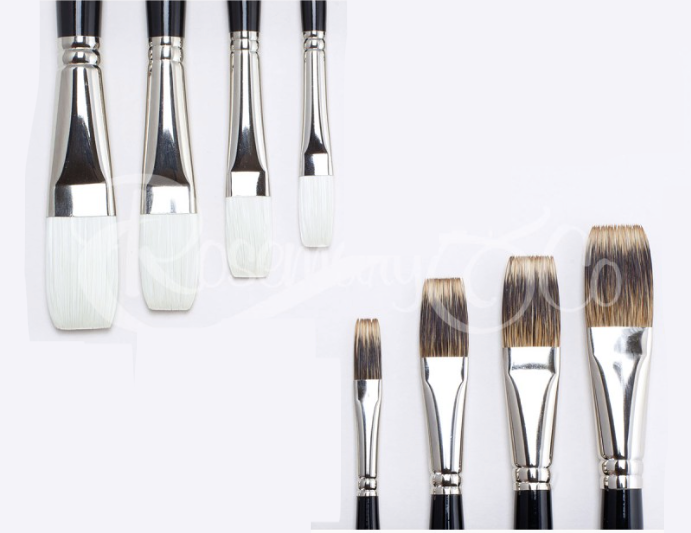 Rosemary & Co STRADA Plein Air Brush Set