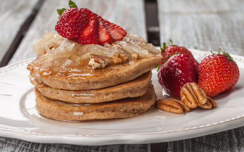 Pumpkin Protein Pancakes by Jason Riley