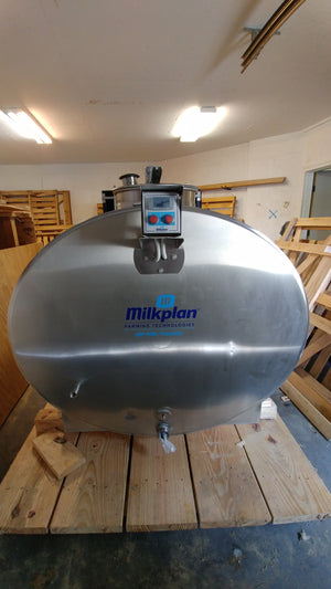 132 Gallon Milkplan Cooling Transport Tank