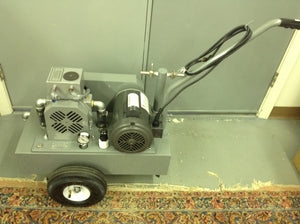 1HP Portable Vacuum Pump & Accessories