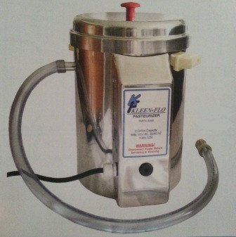 2 Gallon Batch Pasteurizer - Bob-White Systems - vat pasteurizer - milk processing