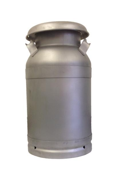 5 Gallon Handcrafted Stainless Steel Milk Can Bob White
