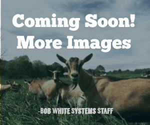 Bucket Milker for Two Goats - ITP 207 Cluster - Bob-White Systems - 2