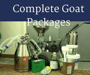 COMPLETE Goat Milking System - Milk 1-4 Goats at a Time
