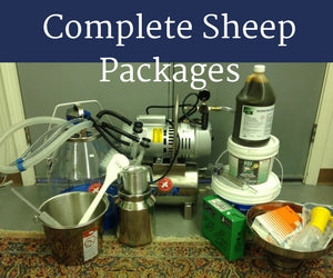 COMPLETE Sheep/Nigerian Dwarf Goat Milking System - Milk 1-2 Sheep/Goats at a Time