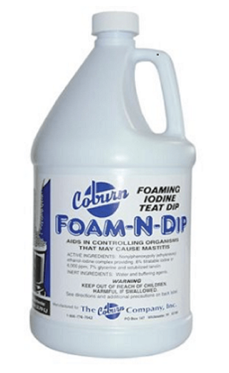 Foaming Teat Dip - Bob-White Systems - 1