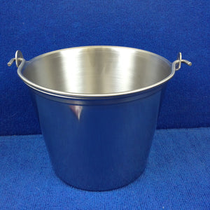 9 QT Stainless Steel Milk Pail