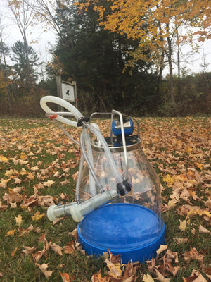 Bucket Milker for One Sheep/Nigerian Dwarf Goat- ITP 207 Cluster - Bob-White Systems - Sheep Milking - Goat Milking - Nigerian Dwarfs - Pygmy Goats - Homestead
