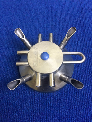 Used Stainless Top for DeLaval Super Lite Claw - Bob-White Systems - 2