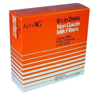 "KenAG 6.5"" disk milk filters"