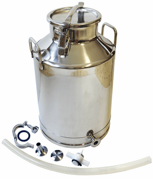 Stainless Steel Milk Bottling Can - 70lb, 90lb, 100lb