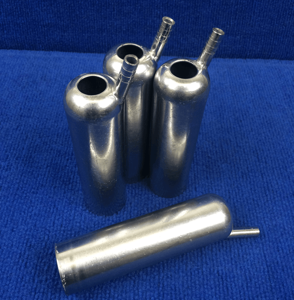 Used Stainless Steel Shells - Cow