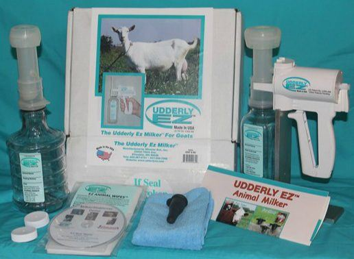 """Udderly EZ"" Hand-Held Vacuum Milker - Bob-White Systems - 1"