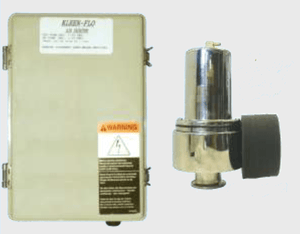 Kleen-Flo Air Injector Complete 110v - Bob-White Systems