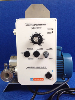 Transfer Pump: Jabsco PureFlo Variable Speed Pump - Bob-White Systems - 1