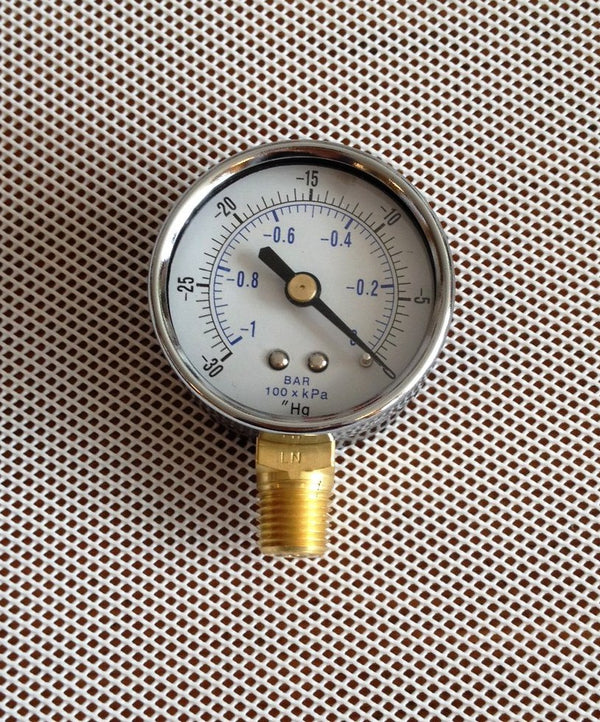 2'' Vacuum Gauge - Bob-White Systems
