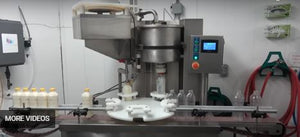 Automatic Rotary Bottle Filler Capper
