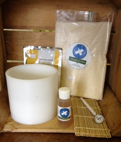 Cheesemaking Kit- Tomme - Bob-White Systems