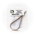 HARELINE DUBBIN TEARDROP HACKLE PLIER NICKEL LARGE